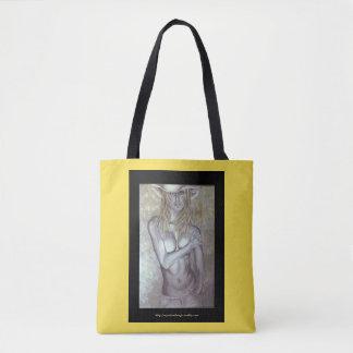 Fantasy Cowgirl Tote Bag