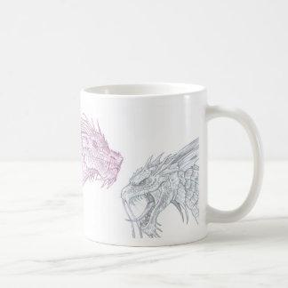 Fantasy Dinosaur Monster Mug by Al Rio