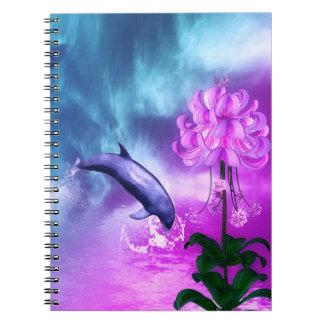 Fantasy Dolphin Notebook