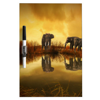 Fantasy Elephant Dry-Erase Boards