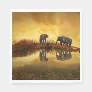 Fantasy Elephant Paper Napkin