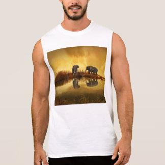 Fantasy Elephant Sleeveless Shirt