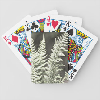 Fantasy Feather Like Fern Bicycle Playing Cards