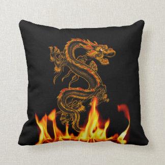 Fantasy Fire Dragon Throw Pillow Throw Cushions