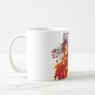 Fantasy Fire Elf Coffee Mug