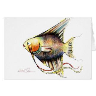 Fantasy Fish: Angelo Card