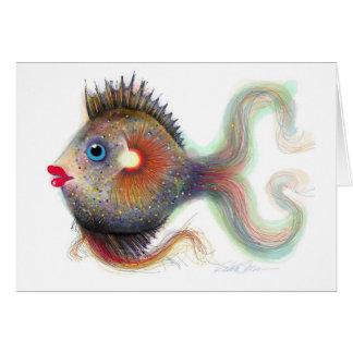 Fantasy Fish: Fancy Card