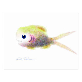 Fantasy Fish: Gilly Post Cards