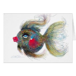 Fantasy Fish: Kissiefish Card