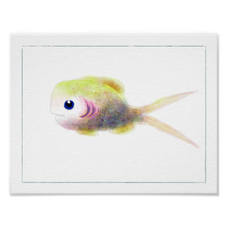Fantasy Fish Poster: Gilly Poster