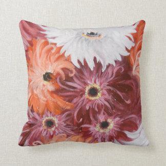 fantasy floral throw pillow