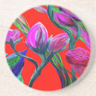 Fantasy Flowers Coaster