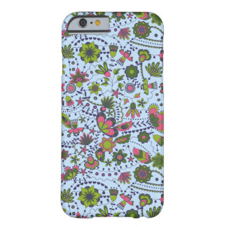 Fantasy flowers on iPhone 6/6s Barely There iPhone 6 Case