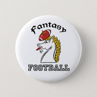 Fantasy Football 6 Cm Round Badge