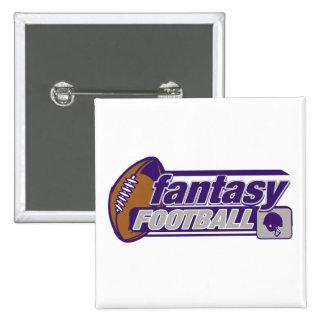 Fantasy Football Pinback Button