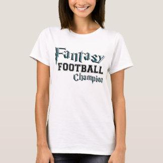 Fantasy Football Champion Geek tshirt
