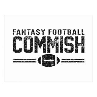 Fantasy Football Commish Postcards