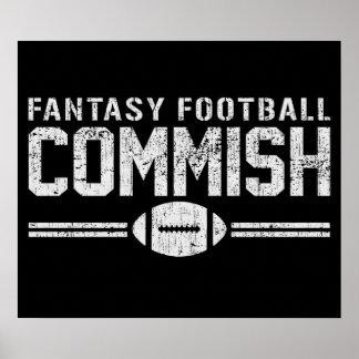 Fantasy Football Commish Print