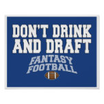 Fantasy Football - Don't Drink and Draught