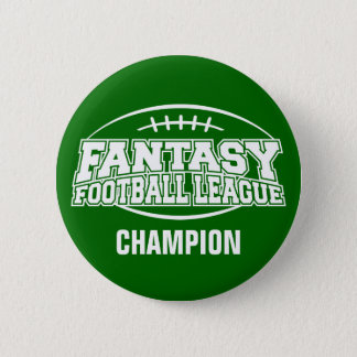 Fantasy Football FFL CHAMPION 6 Cm Round Badge