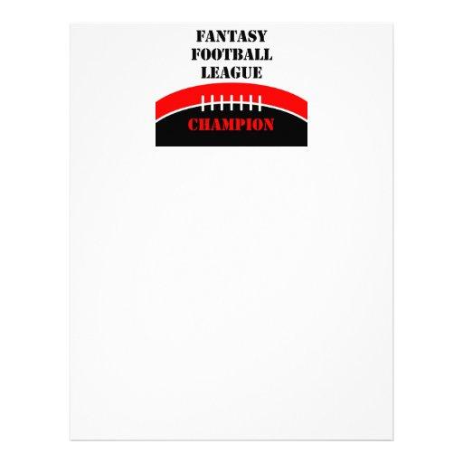 Fantasy Football Flyer Design