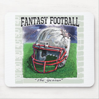Fantasy Football Genius Gear Mouse Pad