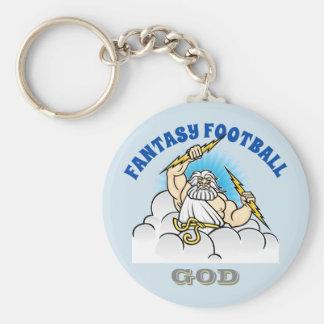 Fantasy Football GOD Key Ring