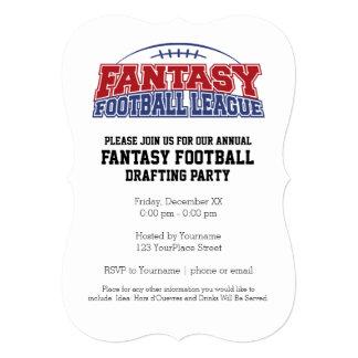 Fantasy Football League Champion 13 Cm X 18 Cm Invitation Card