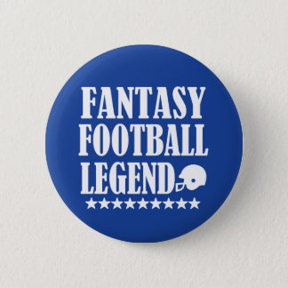 Fantasy Football Legend funny button