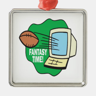 Fantasy Football Metal Ornament