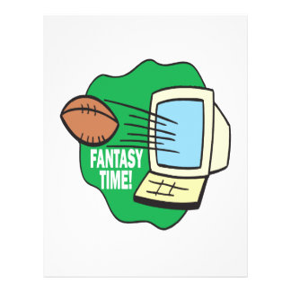 Fantasy Football Personalized Flyer