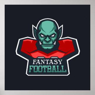 Fantasy Football Poster
