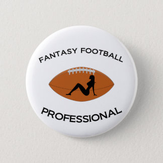Fantasy Football Professional 6 Cm Round Badge