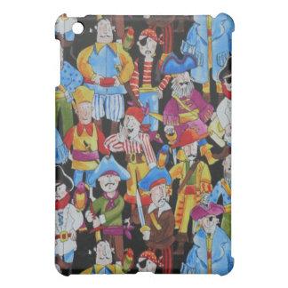 Fantasy Fun Comic Pirates  iPad Mini Cases