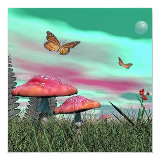 Fantasy garden - 3D render Card