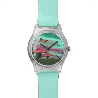 Fantasy garden - 3D render Watch