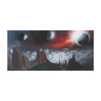 Fantasy Garden of the Gods Canvas Print