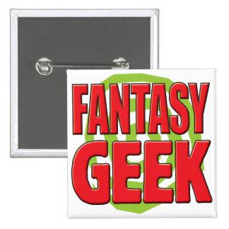 Fantasy Geek Pins