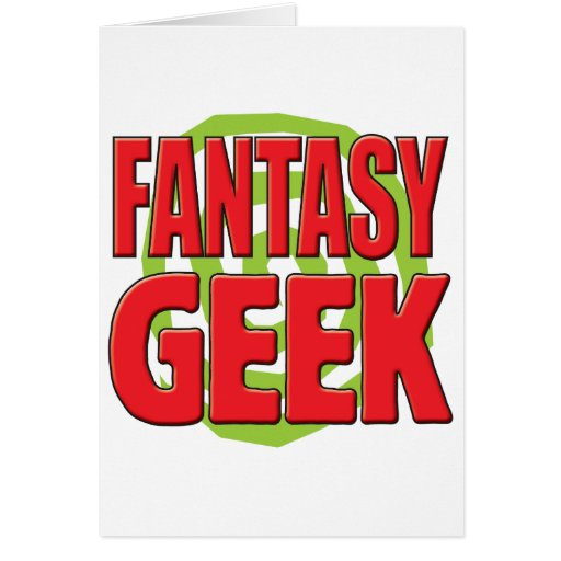 Fantasy Geek Cards
