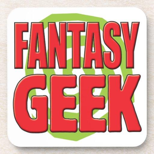 Fantasy Geek Beverage Coaster