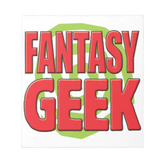 Fantasy Geek Note Pads