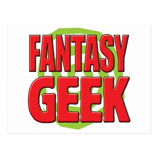 Fantasy Geek Post Card