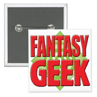Fantasy Geek v2 Pinback Button