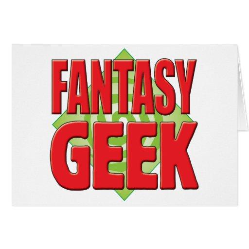 Fantasy Geek v2 Greeting Cards