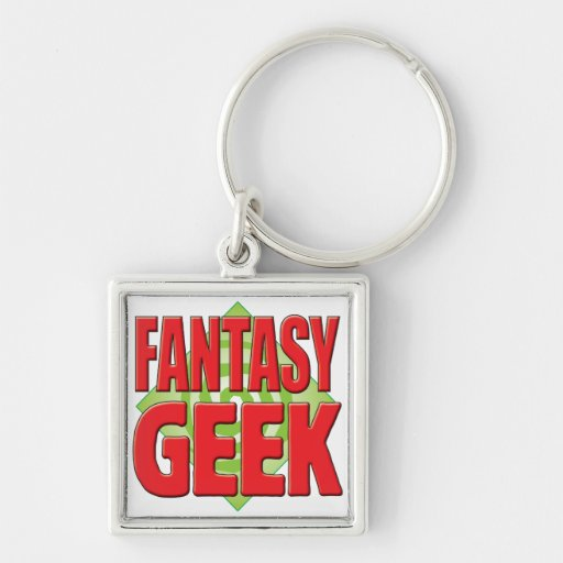 Fantasy Geek v2 Key Chains
