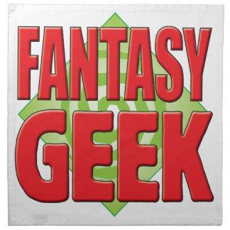 Fantasy Geek v2 Printed Napkins