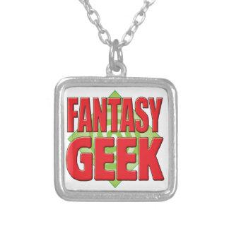 Fantasy Geek v2 Personalised Necklace