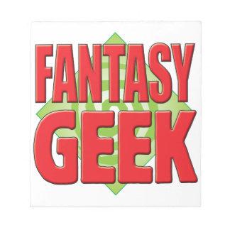 Fantasy Geek v2 Memo Pads