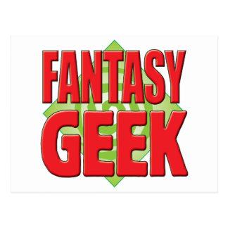 Fantasy Geek v2 Postcard