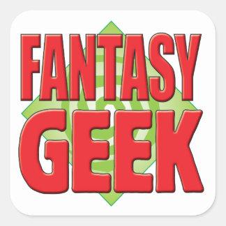 Fantasy Geek v2 Sticker